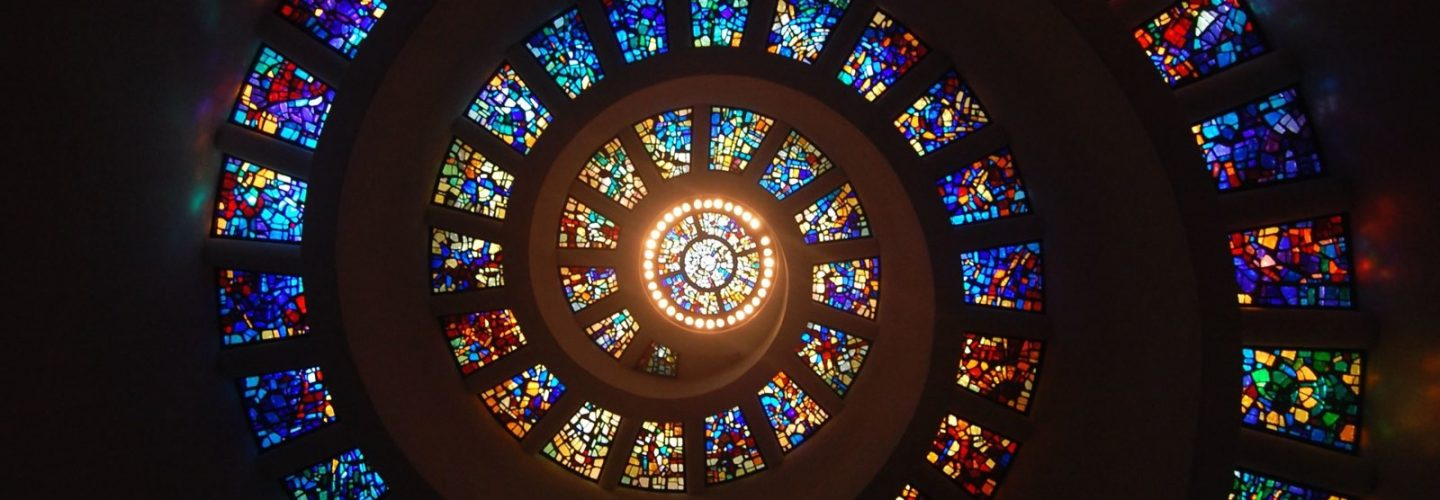 Spiral Stained Glass