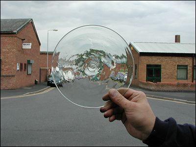 Glass Bullion: Clear 200mm