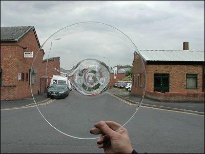 Glass Bullion: Clear 300mm