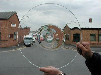 Glass Bullion: Clear 400mm